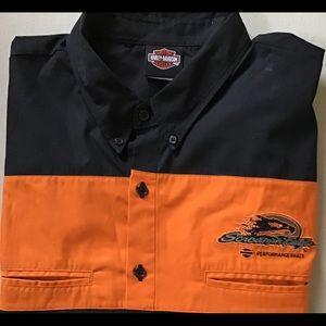 Harley-Davidson Men's Button Down Shirt...